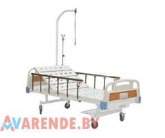 Аренда кровати медицинской 2-x секционной с механическим приводом в Минске