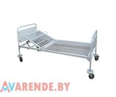 Кровать медицинская 2-x секционная с механическим приводом в Минске