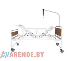 Кровать для лежачих больных на прокат в Минске 3-х секционная