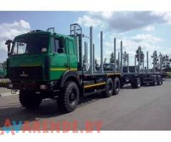 Услуги лесовоза МАЗ в Могилёве