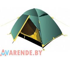 Трёхместная палатка Tramp Scout 3 напрокат в Минске