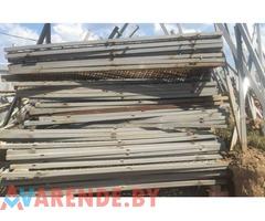 Аренда ограждений металлическх со столбами в Минске