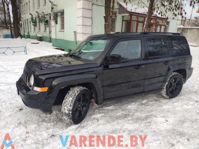 Аренда Jeep Patriot 2015 в Минске - 1/2