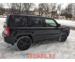 Аренда Jeep Patriot 2015 в Минске