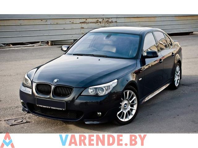 Аренда BMW 5 E60 (БМВ Е6) 2011 в Минске - 1/2