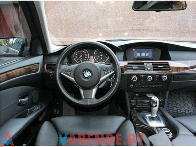 Аренда BMW 5 E60 (БМВ Е6) 2011 в Минске - 2/2