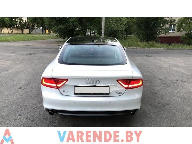 Прокат Audi A7 S-Line в Минске - 2/2