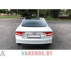 Прокат Audi A7 S-Line в Минске