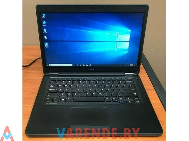 """Аренда ноутбука Dell E5450 i5 (4-го поколения) 14"""" в Минске - 1/1"""