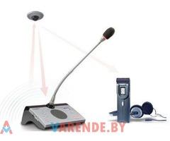 Цифровая беспроводная конференц система HSC 5300 Taiden напрокат в Минске