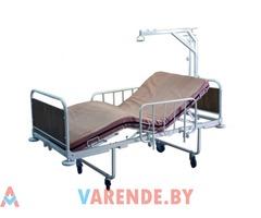 Прокат кровати медицинской 3-секционной механической в Могилёве