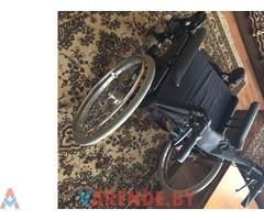 Прокат широкой инвалидной коляски для полного человека в Могилёве