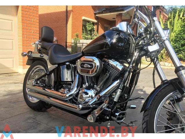 Прокат мотоцикла Harley Davidson Softail FXST в Минске - 1/2