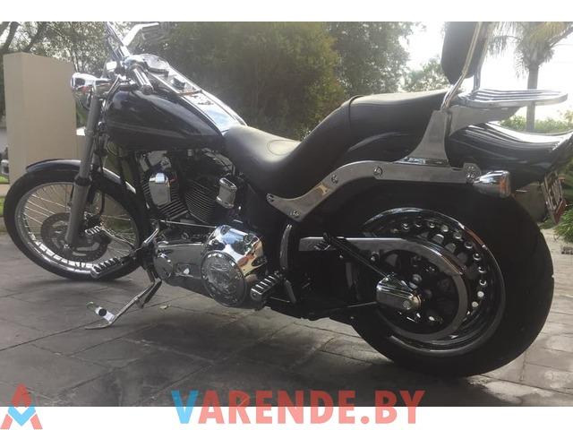 Прокат мотоцикла Harley Davidson Softail FXST в Минске - 2/2