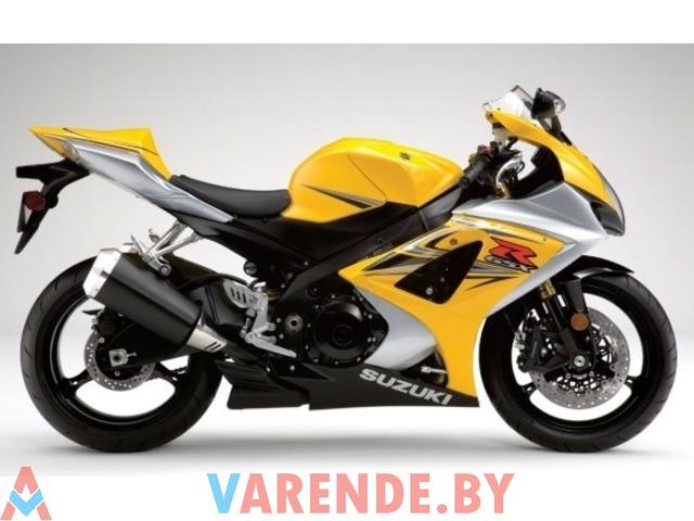 Аренда мотоцикла Suzuki GSXR 750 K1 в Минске - 1/3