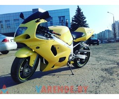 Аренда мотоцикла Suzuki GSXR 750 K1 в Минске