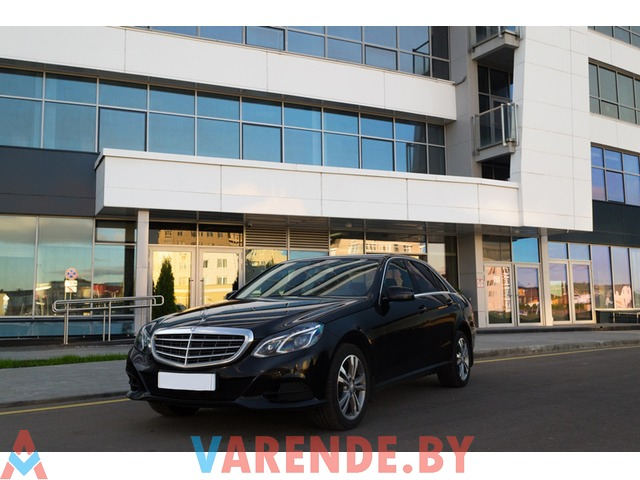 Прокат Mercedes-Benz E-класс w212 в Минске - 1/2