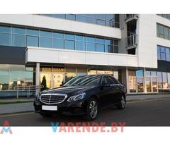 Прокат Mercedes-Benz E-класс w212 в Минске