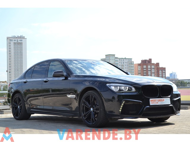 Аренда BMW 7 F01 MANSORY в Минске - 1/3