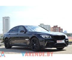 Аренда BMW 7 F01 MANSORY в Минске