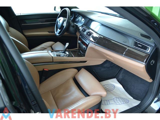 Аренда BMW 7 F01 MANSORY в Минске - 3/3