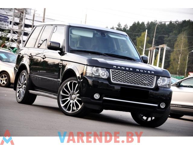 Аренда Range Rover Vogue SE SDV8 в Минске - 1/3