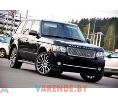 Аренда Range Rover Vogue SE SDV8 в Минске