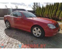 Аренда Mercedes SLK в Минске