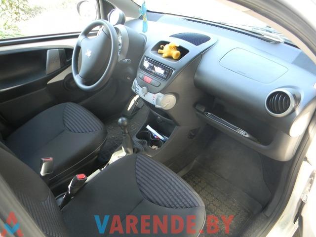 Аренда авто Peugeot 107 в Минске - 2/2