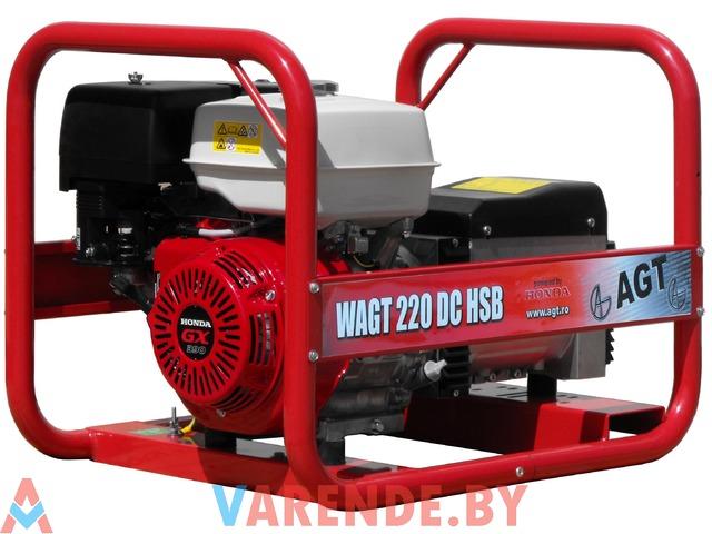 Сварочный генератор WAGT 220 DC HSB напрокат в Минске - 1/1