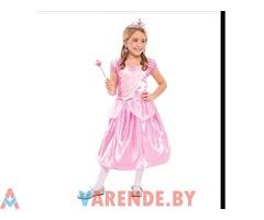 Аренда детского карнавального костюма Розовая принцесса в Минске