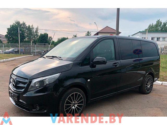 Аренда Mercedes Vito long 2016 в Минске - 1/2