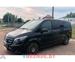 Аренда Mercedes Vito long 2016 в Минске