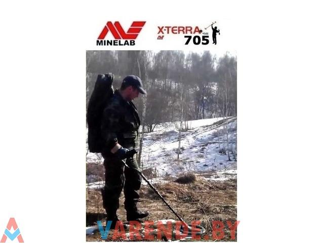 Металлоискатель Minelab X-Terra 705 напрокат в Минске - 1/1