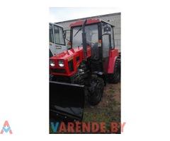Аренда трактор щетка Беларус 320-4 в Минске