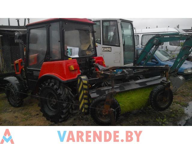 Аренда трактор щетка Беларус 320-4 в Минске - 3/4