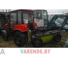 аренда трактор щетка Беларус 320.4