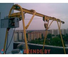 Аренда консольного крана К1 в Минске