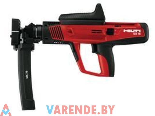 Аренда и продажа бу монтажных пистолетов ПЦ-84, Hilti DX-460,  GX-120 - 3/4