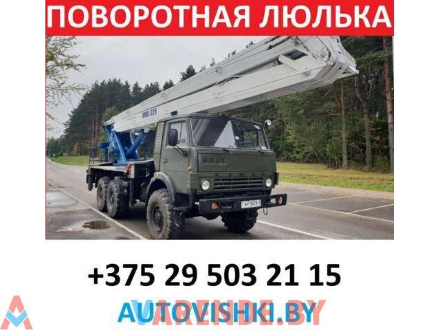 АВТОВЫШКА в аренду 28м. вездеход 6х6 КРУГЛОСУТОЧНО - 1/2