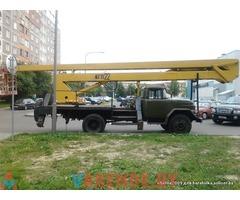 Аренда автовышки от 17 до 28 метров в Минске