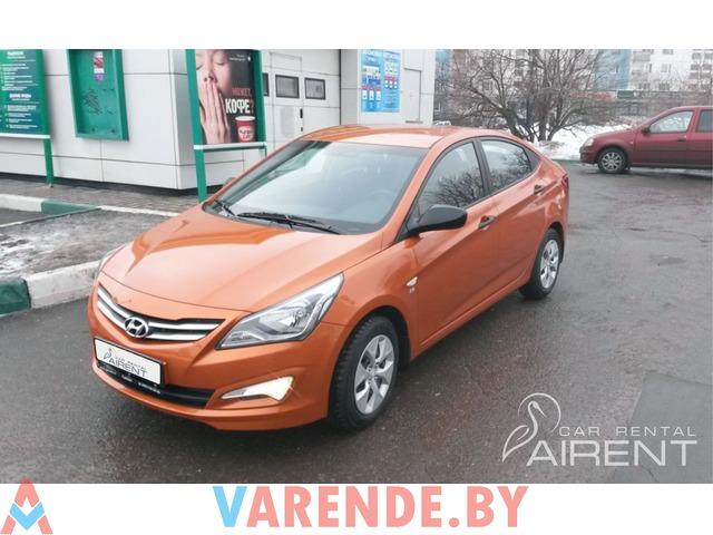 Hyundai Solaris напрокат - 1/4