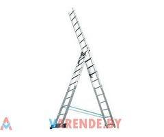 Аренда лестницы-стремянки 3-х секционные в Минске