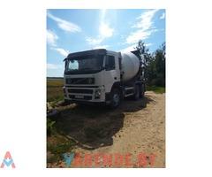 Услуги автобетоносмесителя (миксера) Volvo 7 м3. Доставка и продажа бетона.