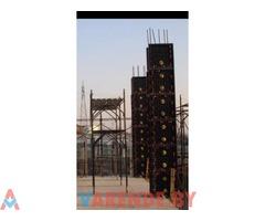 Аренда пластиковой опалубки и колонн для Стен, Заборы, Фундамент, Басеин.