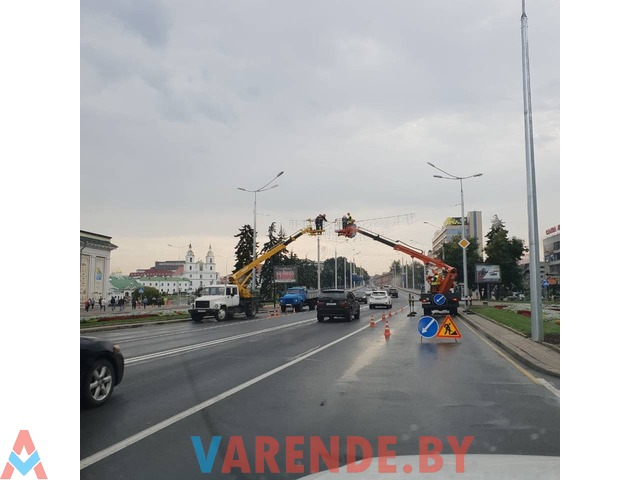 Аркенда автовышки 22 метра в Минске - 2/3