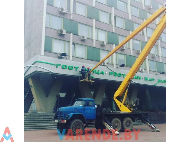 Аркенда автовышки 22 метра в Минске - 3/3
