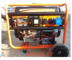 Бензиновый генератор 6,5 кВт прокат (аренда) в Орше