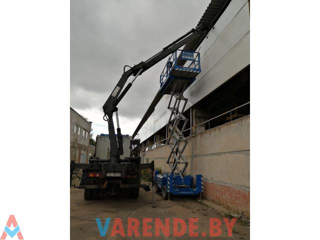 Грузоперевозки с прицепом до 40 тонн, помощь в загрузке и выгрузке краном манипулятором - 1/3