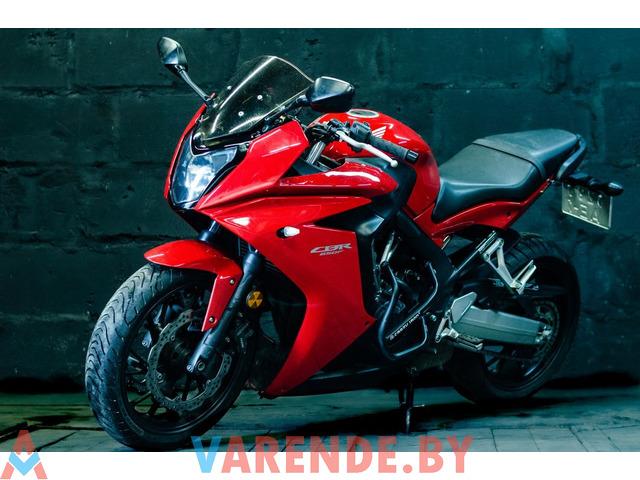 Аренда мотоцикла Honda CBR 650 F в Минске - 1/4